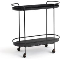 Alma Marble Effect Serving Trolley