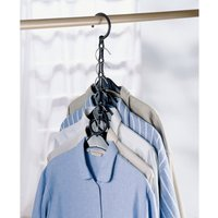 Areglo Assortment of 4 space saving hangers