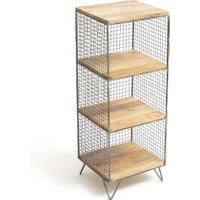 Areglo Metal & Wood Shelving Unit