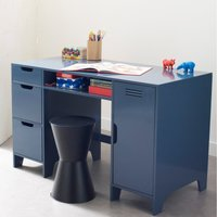 Asper Child's Desk with Double Cabinets