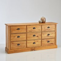 Authentic Style Solid Pine Haberdashery Cabinet