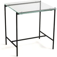 Clara Side Table in Tempered Glass