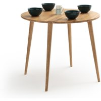 Crueso Round Ash Dining Table (Seats 4)