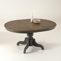 Eulali Extendable Oak/Pine Dining Table (Seats 4-8)