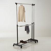 Expandable Double Clothes Rail