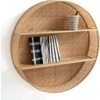 Hadga Round Bamboo Shelf