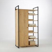 Hiba Modular Wardrobe with 1 Door & 6 Shelves