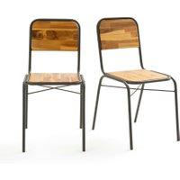 Hiba Set of 2 School Chairs