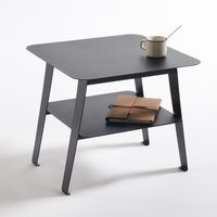 Hiba Two-Tier Side Table in Steel