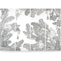Iquitos Panoramic Jungle Wallpaper Panels