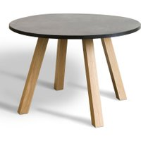 Jacob Round Table with Reversible Base (Diameter 120cm)