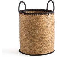 Jak Tall Basket in Woven Palm