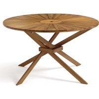 Jakta Round Garden Table in Acacia