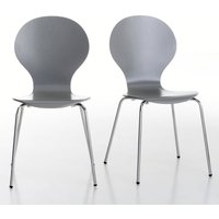 Janik Stackable Curved Chairs (Set of 2)