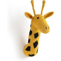Lapilli Giraffe Head Wall Decoration