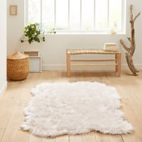 Livio Large Faux Sheepskin Rug