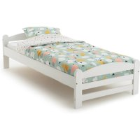 Loan Solid Pine Bed with Base