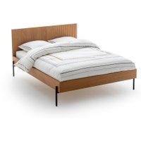 Lodge Oak Vintage Style Bed
