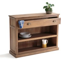 Lunja Console Table with 1 Drawer and 2 Shelves