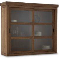Lunja High Cabinet with 2 Sliding Doors