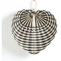Moya Fan Wall Decoration in Two-tone Bamboo (Small model)