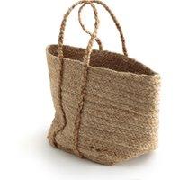 Naturalle Soft Woven Jute Basket Bag