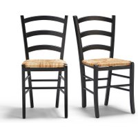 Set of 2 Perrine Country-Style Chairs