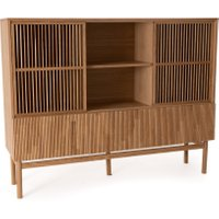 Pilpao Oak-Veneered Bookcase