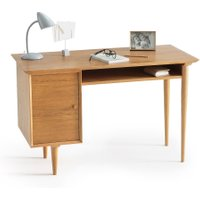 Quilda Vintage-Style Desk with 1 Cupboard