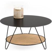 Rosali Metal & Rattan Coffee Table