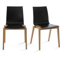 Set of 2 Soumam Chairs in Beech