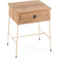 Sumiko Solid Recycled Elm Bedside Table