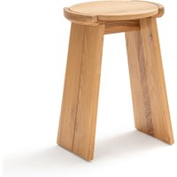 Tibet Solid Oak Stool / Side Table