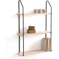 Vinto Triple Wall Shelf in Wood/Metal