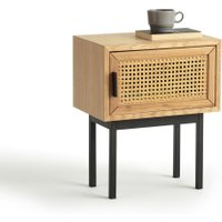 Waska Bedside Cabinet with Cane Door