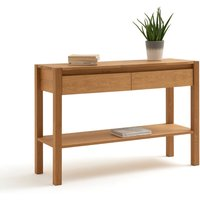 Adelita Oak Console Table with 2 Drawers