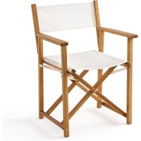 Alfred Table Armchair in Teak Stained Oiled Acacia