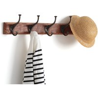 Anet Wall-Mounted Coat Rack with 5 Hooks
