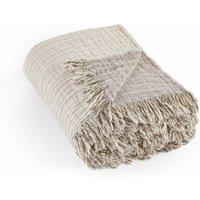 Aska Organic Cotton Muslin Throw