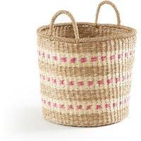 Azzu Round Braided Seagrass Basket