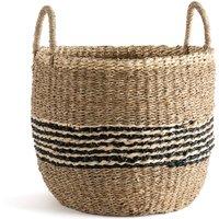 Keita Round Woven Seagrass Basket