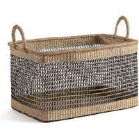 Kezia Rectangular Woven Grass Basket