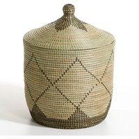 Large Louna Rice Straw Storage Basket