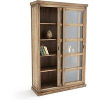 Lunja Bookcase with 2 Sliding Doors