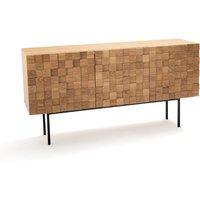 Madria Oak 3-Door Sideboard