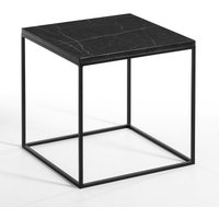 Mahaut Side Table with Marble Top