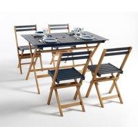 Myrton 5-Piece Garden Furniture Set in Acacia