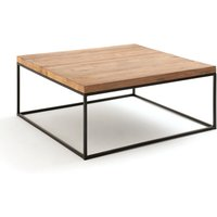 Orma Square Coffee Table with Recycled Elm Top