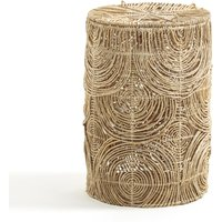 Orphée Laundry Basket in Woven Abaca