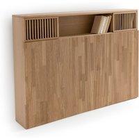 Pilpao Oak Headboard with Storage